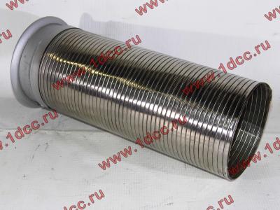 Гофра-труба выхлопная 6х4 с юбкой H2/H3 HOWO (ХОВО) WG9725540053 фото 1 Мурманск