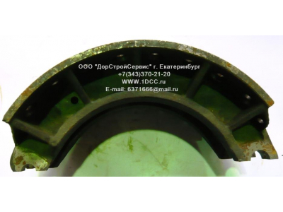 Колодка тормозная задняя (металл, без накладок) H HOWO (ХОВО) WG199000340061 фото 1 Мурманск