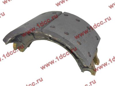 Колодка тормозная задняя с накладками H2/H3 HOWO (ХОВО) WG199000340061 фото 1 Мурманск