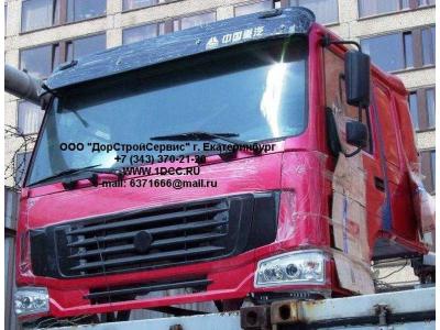 Кабина H2 красная со спальником HOWO (ХОВО) HW76 фото 1 Мурманск