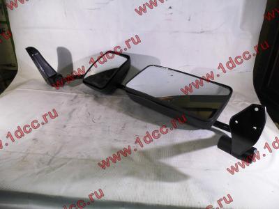 Зеркало заднего вида левое в сборе (на металл. стойке) H2/H3 HOWO (ХОВО) WG1842888010/2 L фото 1 Мурманск