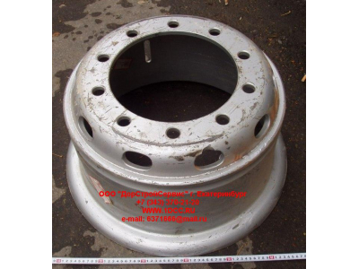 Диск колесный R20х8,5 10 отв. H2/H3/SH HOWO (ХОВО) WG9112610062 фото 1 Мурманск