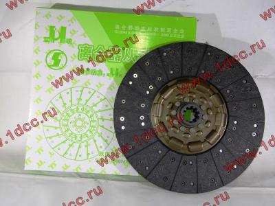 Диск сцепления ведомый 420 мм H2/H3 HOWO (ХОВО) WG1560161130 фото 1 Мурманск