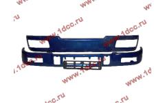 Бампер C синий верхний+нижний (в сборе) фото Мурманск