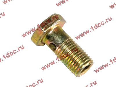 Болт пустотелый М12х1,25 (штуцер топливный) H HOWO (ХОВО) 90003962607 фото 1 Мурманск