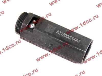 Клапан предохранительный главной масляной магистрали двигателя H HOWO (ХОВО) VG1500070097 фото 1 Мурманск