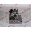 Кронштейн топливного фильтра грубой очистки (с помпой, 4 отверстия) H3/SH/F HOWO (ХОВО)  фото 2 Мурманск