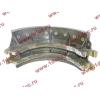 Колодка тормозная задняя с накладками H2/H3 HOWO (ХОВО) WG199000340061 фото 3 Мурманск