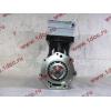 Компрессор пневмотормозов 2-х цилиндровый WABCO H3 HOWO (ХОВО) VG1099130010 фото 3 Мурманск