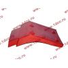Брызговик передней оси правый H2 красный HOWO (ХОВО) WG1642230004 фото 3 Мурманск