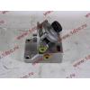 Кронштейн топливного фильтра грубой очистки (с помпой, 4 отверстия) H3/SH/F HOWO (ХОВО)  фото 4 Мурманск
