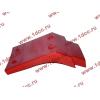 Брызговик передней оси правый H2 красный HOWO (ХОВО) WG1642230004 фото 4 Мурманск