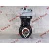 Компрессор пневмотормозов 2-х цилиндровый WABCO H3 HOWO (ХОВО) VG1099130010 фото 5 Мурманск